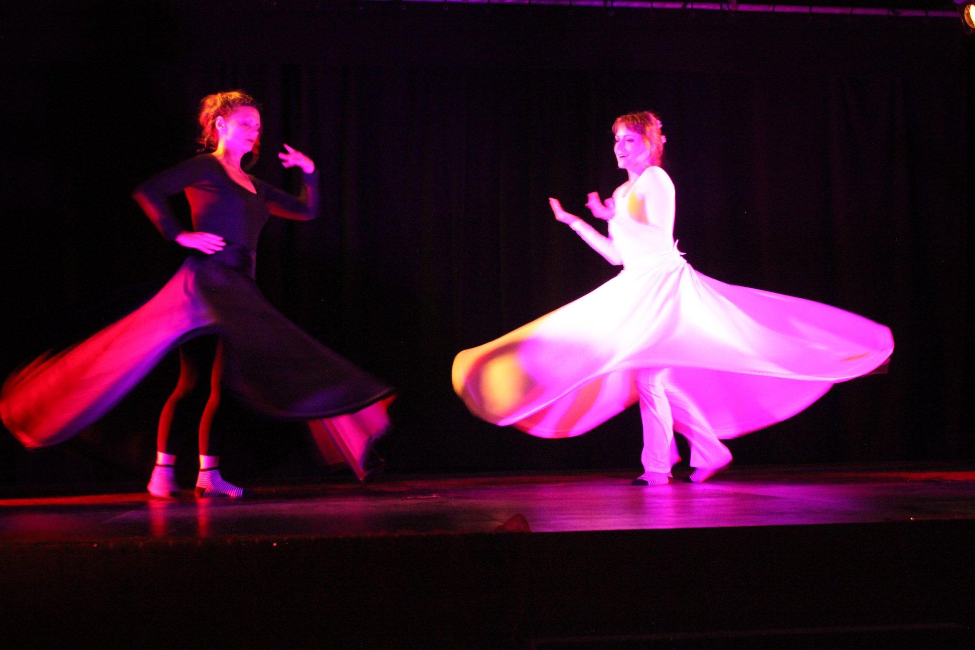 Dervish Duo Christine und Gabriele Show Colours of Orient 2018