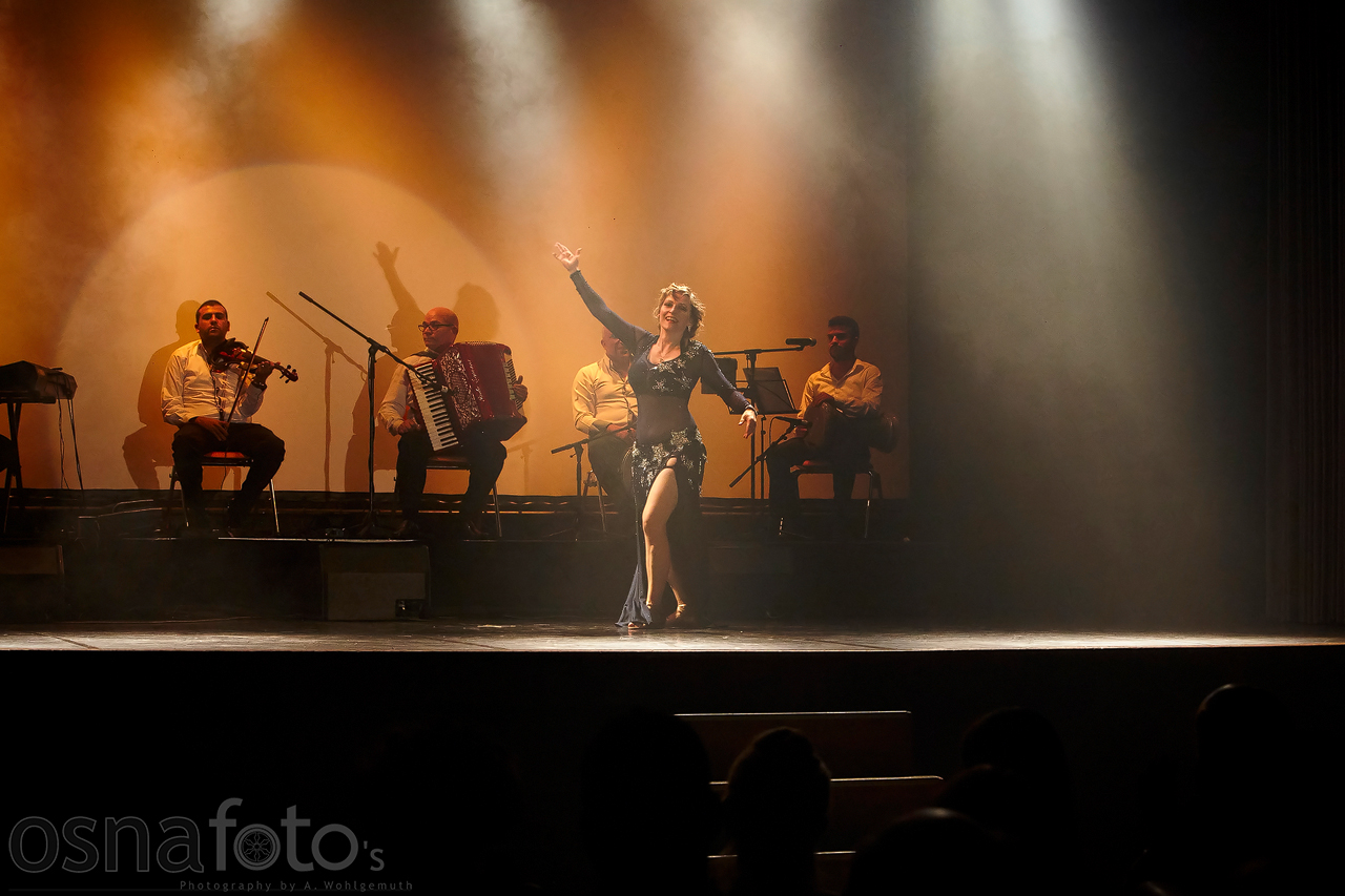 Gabriele mit live Musik bei der Nostalgia Night in Osnabrueck