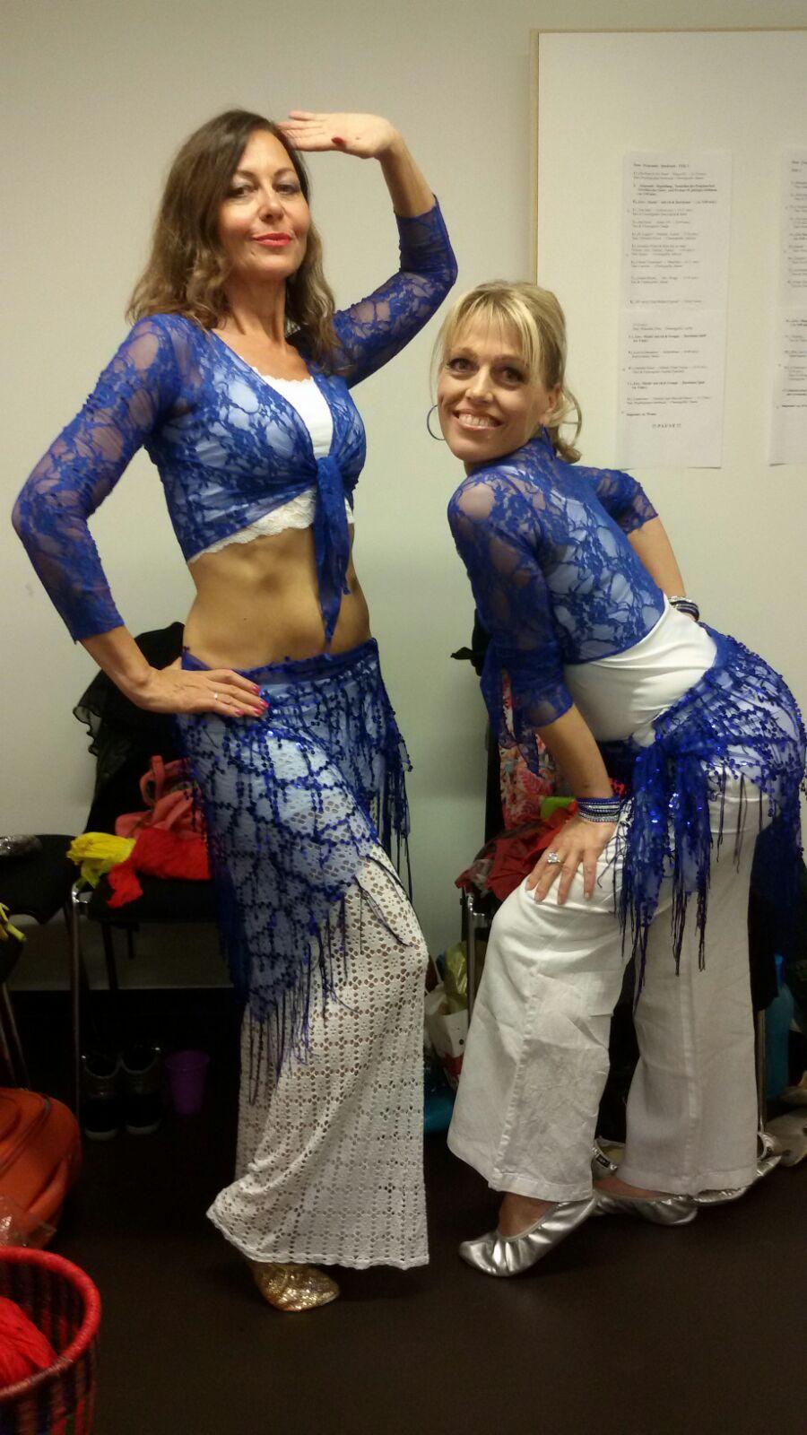 Candyman mit Maria bei der Jubilaeumsshow von Eveline in Zirl bei Innsbruck 2016